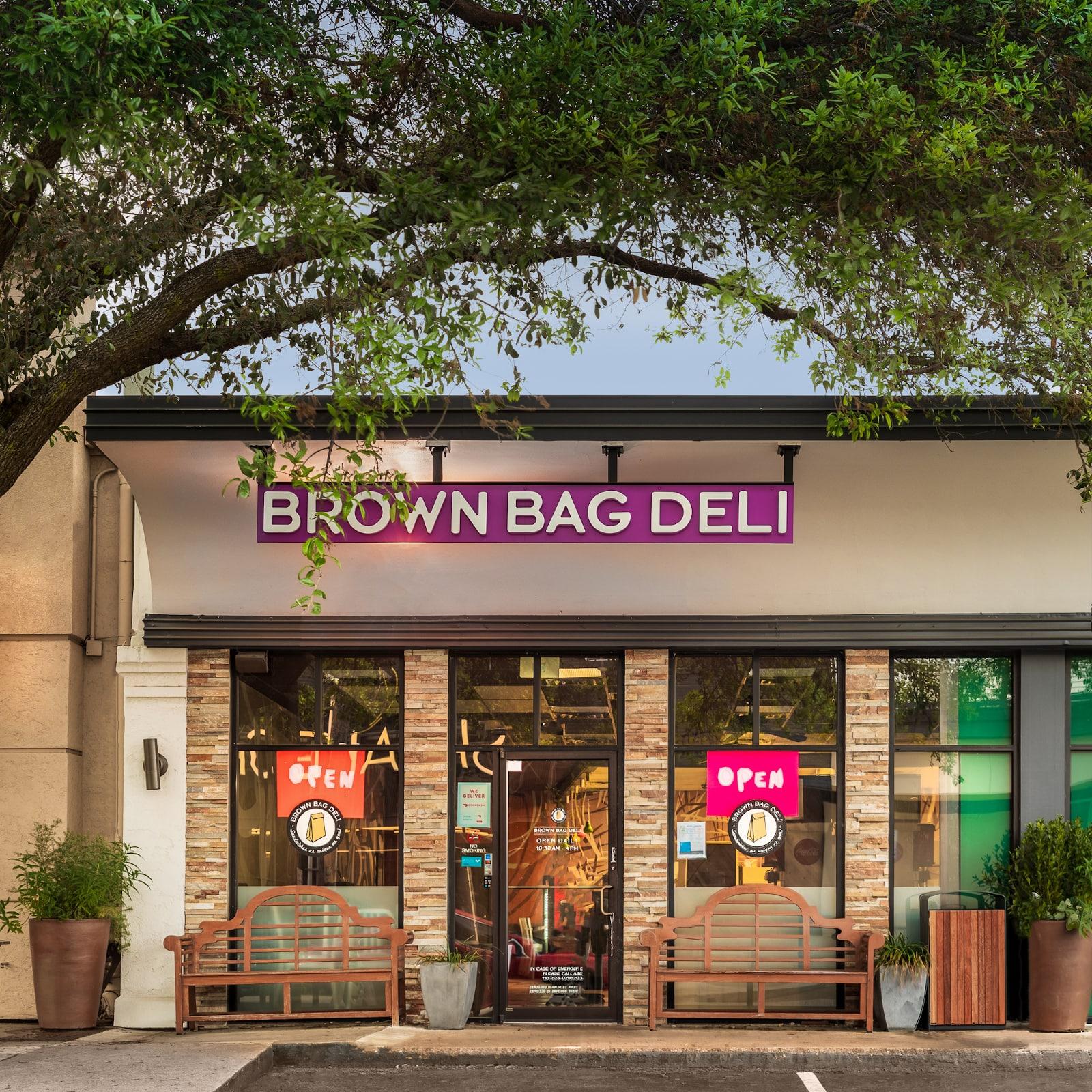brown bag deli houston