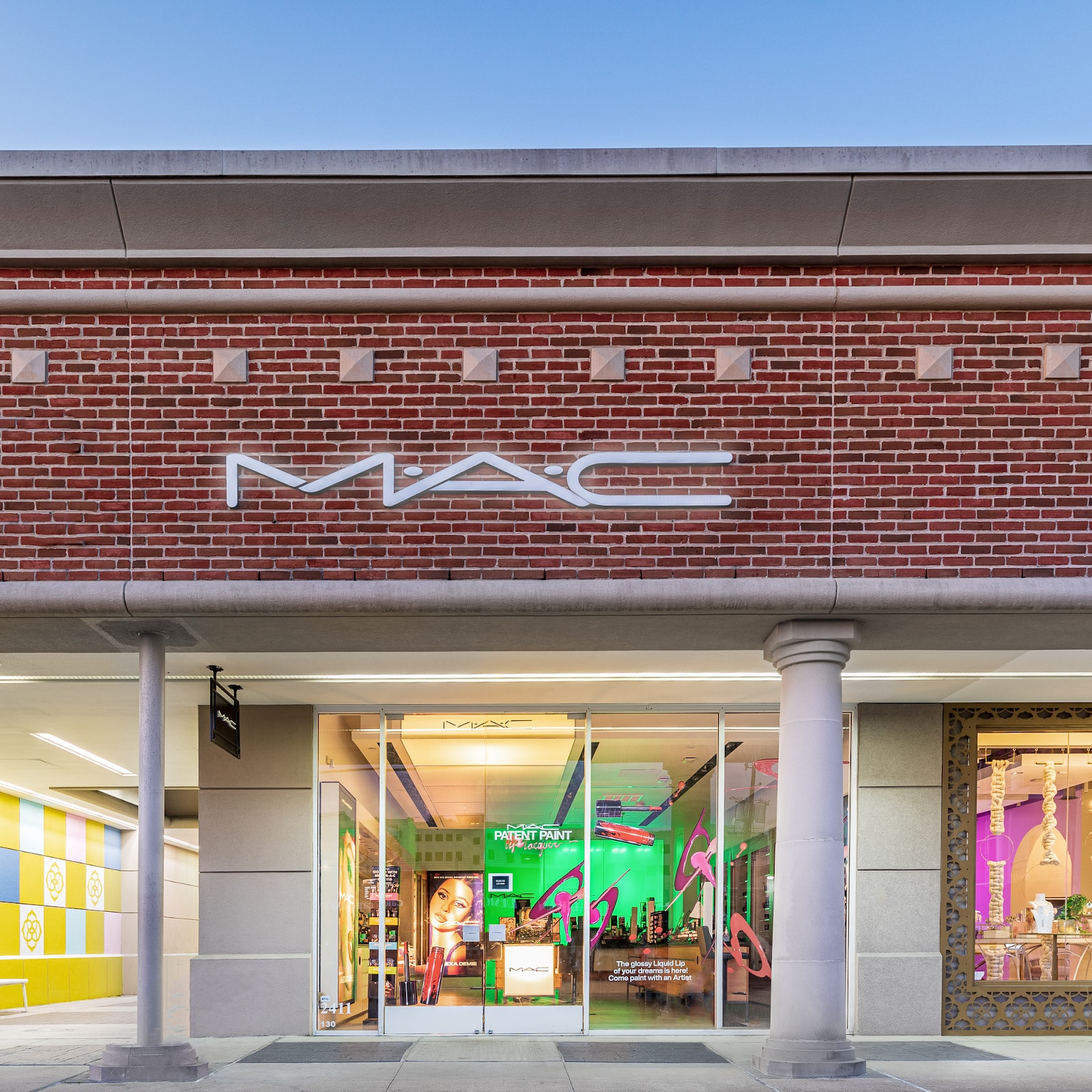 mac cosmetics houston